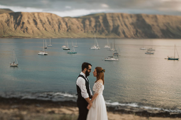 Destination wedding in the Canary Islands one of eight Zika-free destinations shared by Destination wedding planner, Mango Muse Events