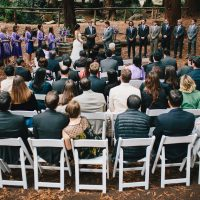 Stern Grove wedding ceremony in San Francisco by Destination wedding planner, Mango Muse Events