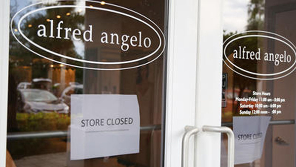 Alfred Angelo Bridal store closed
