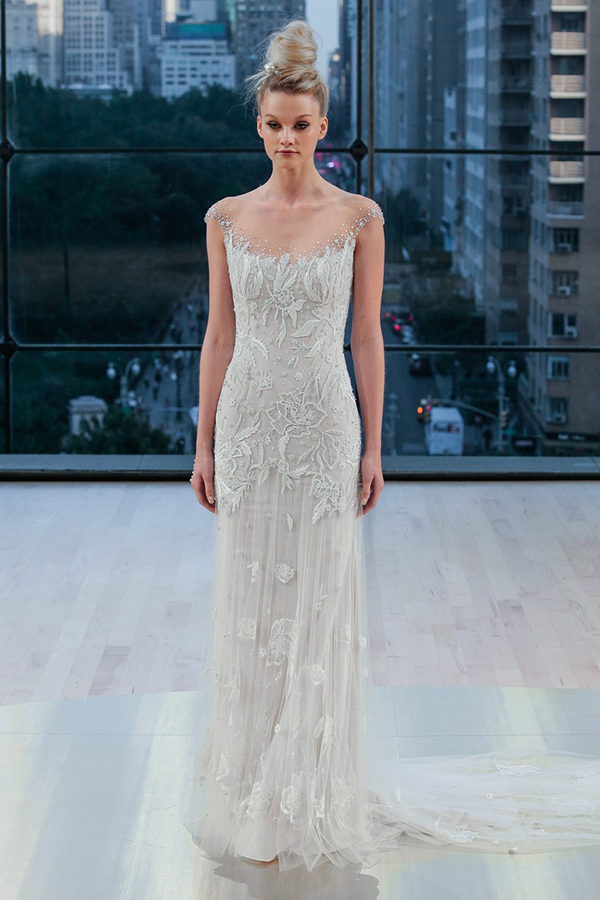 Best wedding dress trends from bridal fall 2018 collections wedding dress by ines di santo fall 2018 bridal junglespirit