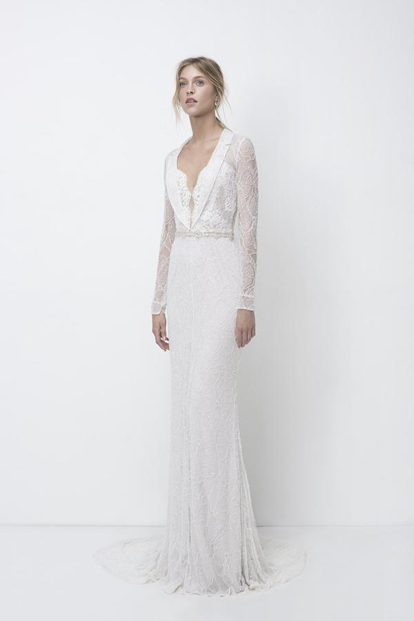 Wedding dress by Lili Hod Fall 2018 Bridal