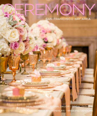Ceremony magazine where Mango Muse Events Destination wedding planner is featured