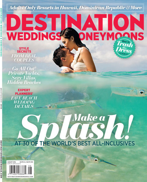 Destination weddings & honeymoons magazine feature by destination wedding planner Mango Muse Events