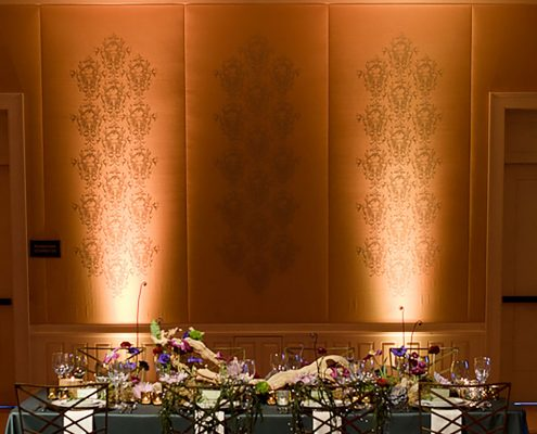 Woodland fairytale wedding design for the Rosewood hotel by Destination wedding planner Mango Muse Events