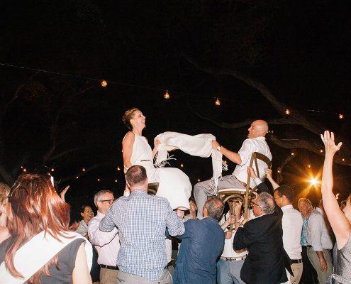 Hora dance at a Big Island Hawaii destination wedding by Destination wedding planner Mango Muse Events