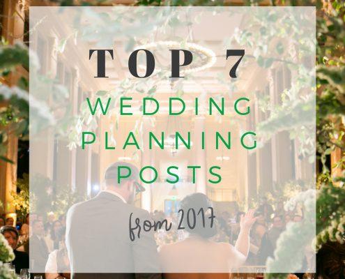 Top 7 wedding planning blog posts 2017 by Destination wedding planner Mango Muse Events