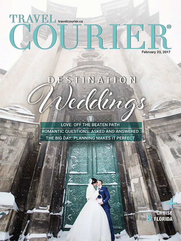 Travel Courier Magazine featured destination wedding planner Mango Muse Events