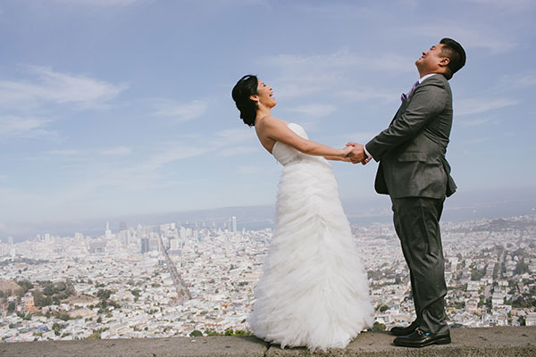 San Francisco city wedding by Destination wedding planner Mango Muse Events