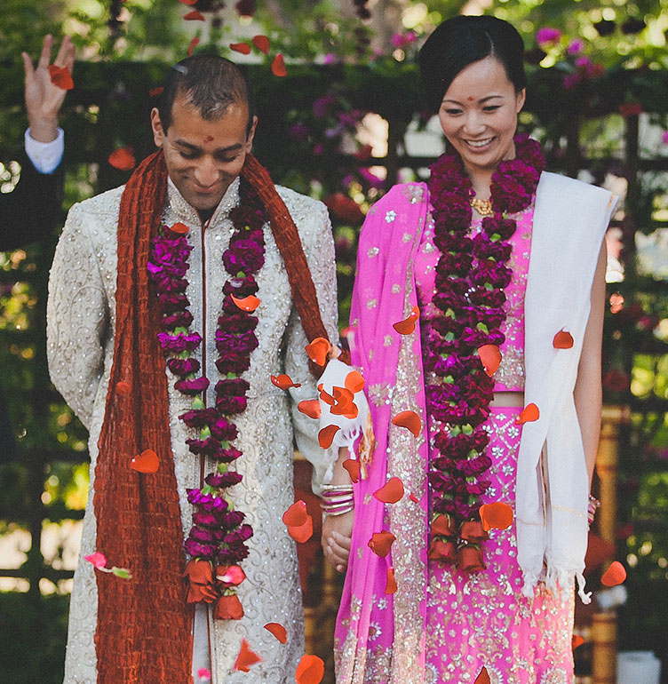 Hindu wedding ceremony at a multicultural wedding by Destination wedding planner Mango Muse Events