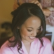 Bride getting ready on her wedding day by Destination wedding planner, Mango Muse Events