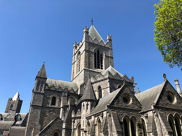 Christ Church in Dublin, Ireland, a gay friendly wedding destinations by destination wedding planner Mango Muse Events