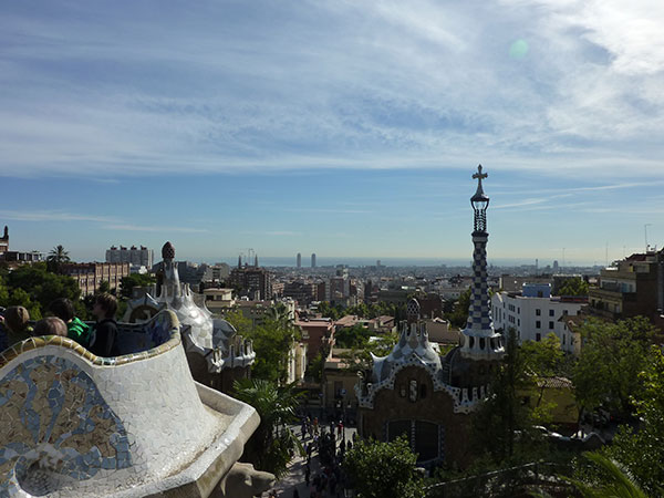Park Guell in Barcelona, Spain, a gay friendly wedding destinations by destination wedding planner Mango Muse Events