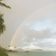 Rainbow in Oahu Hawaii, a gay friendly wedding destinations by destination wedding planner Mango Muse Events