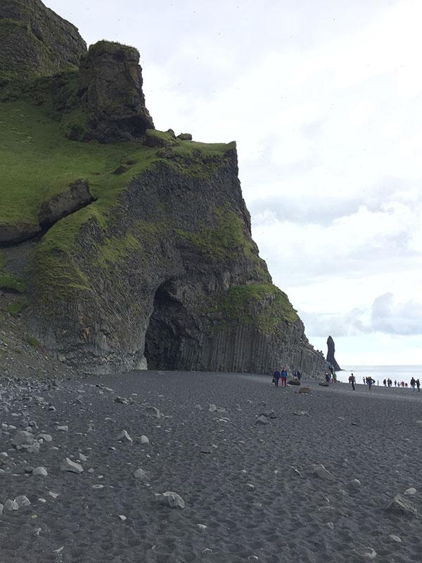 Reynisfjara black sand beach in Iceland, a gay friendly wedding destinations by destination wedding planner Mango Muse Events