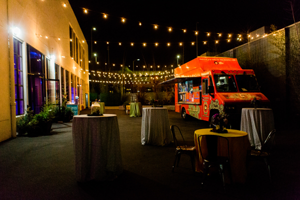Late night food trucks for a San Francisco wedding at Terra Gallery by destination wedding planner Mango Muse Events