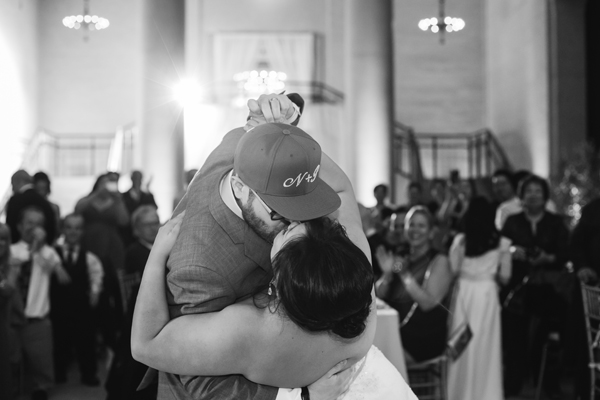 First dance dip and kiss at a destination wedding by destination wedding planner Mango Muse Events