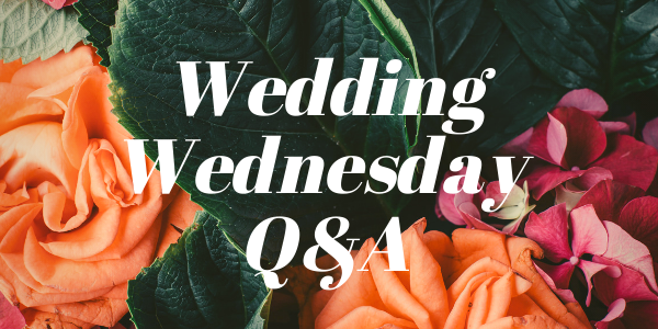 Wedding Wednesday Q&A wedding planning questions answered by Destination wedding planner Mango Muse Events